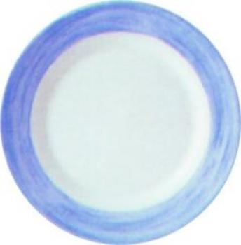 ambiente gastro serie brush blue dessertteller flach 19 5 cm aus arcopal hartglas. Black Bedroom Furniture Sets. Home Design Ideas