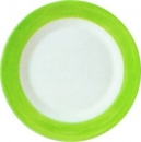 Serie  BRUSH green Dessertteller flach 19,5 cm